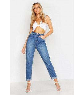 Spodnie damskie BOOHOO Mom Jeans XS 2414001/34