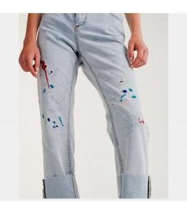 Spodnie damskie PULL&BEAR Splat L 2414005/40