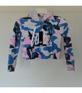 Bluza dziewczęca HYPE Kids Crop Hood 2506006/11-12