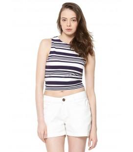 Top damski New Look Stripe L