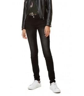 Spodnie damskie Desigual Denim Dark Was 2507005/28