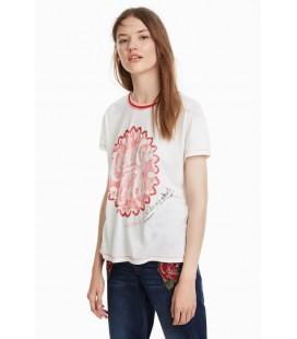 T-shirt damski Desigual TS Enjoy 2507014/L