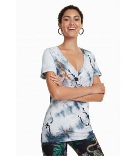 T-Shirt damski Desigual TS Agnes 2507015/M