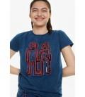 T-Shirt damski Desigual TS Indigorobot 2507018/L