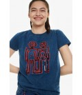 T-Shirt damski Desigual TS Indigorobot 2507018/XL