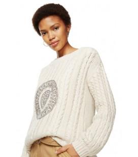 Sweter damski Desigual Jers Maila 2507026/XL