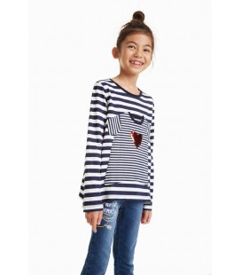 Bluzka dziewczęca Desigual TS Sprin 2508006/11-12