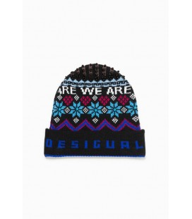 Czapka Desigual Hat Winter Blue 2508011