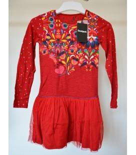Sukienka dziewczęca Desigual Vest Col 2511004/9-10