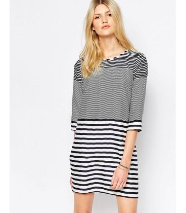 Sukienka exASOS Mixed Stripe M