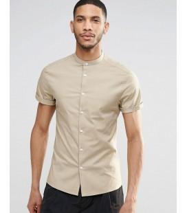 Koszula męska exAS Skinny In Stone XS