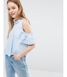Bluzka Neon Rose XS