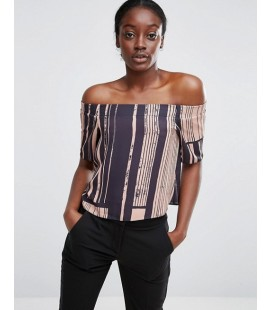 Top damski exAS Off Shoulder L